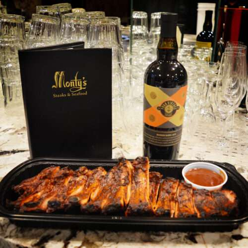 Monty's Steakhouse BBQ Baby Back Ribs