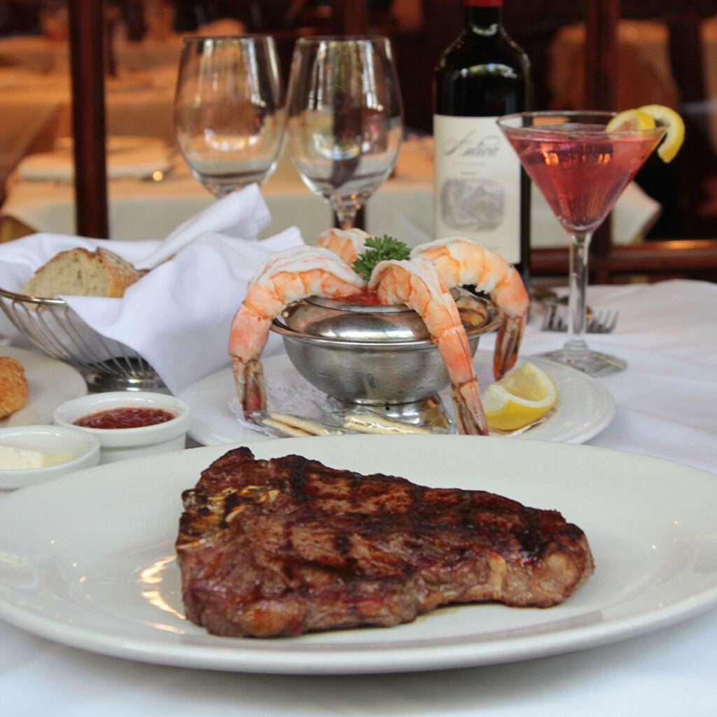 Monty's Steakhouse T-bone Steak