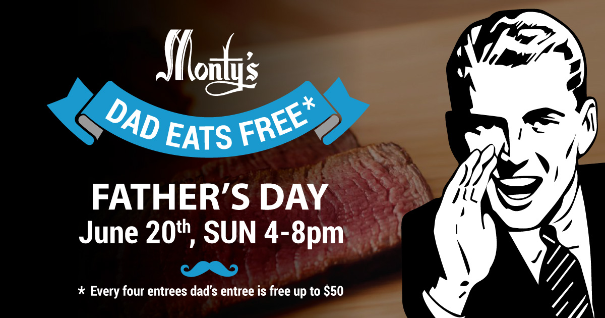 Monty's Happy Father's Day
